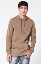 Young & Reckless Ravager Mocha Distressed Pullover Hoodie