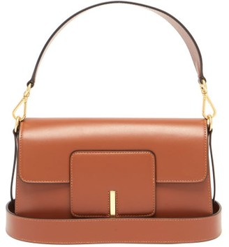 Wandler Georgia Leather Shoulder Bag - Tan