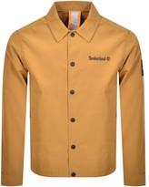 Timberland Coach Logo Jacket Brown