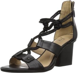 The Fix Amazon Brand Women's Jackson Rope-Tie Block Heel Dress Sandal