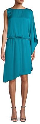 Ava & Aiden One-Shoulder Asymmetrical Dress