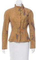 Christian Lacroix Patterned Linen Jacket