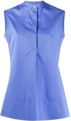 Aspesi sleeveless buttoned cotton blouse