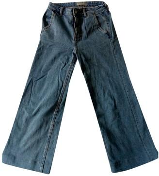 Everlane Blue Denim - Jeans Trousers