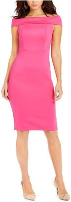 Thalia Sodi Off-The-Shoulder Bodycon Dress