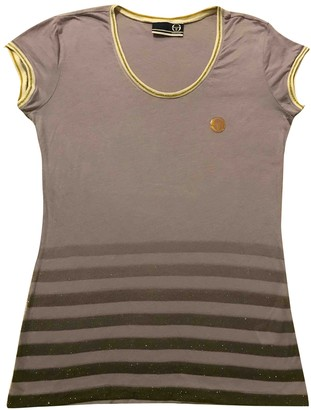 Sergio Tacchini Purple Cotton Top for Women