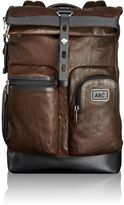 Tumi Luke Roll Top Leather Backpack
