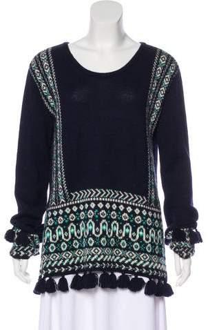 Calypso Alpaca Patterned Sweater