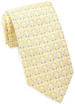 Tailorbyrd Lacrosse Stick Silk Tie