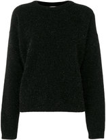 Laneus glitter effect sweater