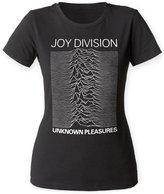 Impact Joy Division English Rock Band Unknown Pleasures Juniors T-Shirt Tee