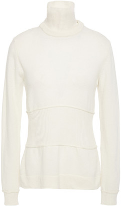 Cédric Charlier Convertible Wool Turtleneck Sweater