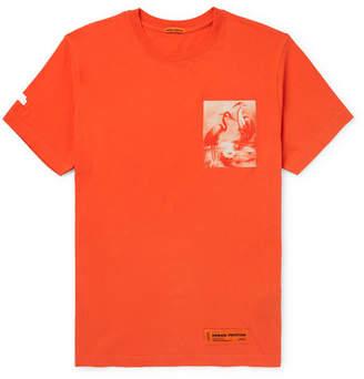 Heron Preston Printed Cotton-Jersey T-Shirt