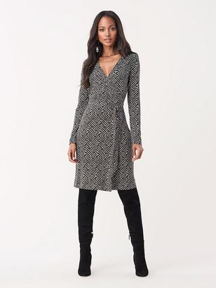 Diane von Furstenberg Julian Silk-Jersey Wrap Dress