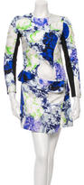 Josh Goot Floral Print Mini Dress w/ Tags