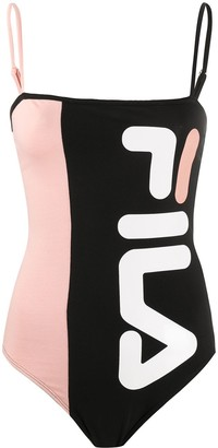 Fila Panelled Logo-Print Body