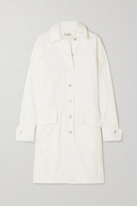 By Malene Birger + Net Sustain Magdelena Frayed Organic Denim Coat