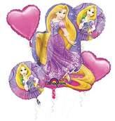 Mayflower Princess Rapunzel Balloon Bouquet (5 Pack)