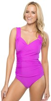 Athena Cabana Solids Slimming One Piece