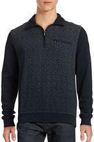 Bugatti Premium Finish Quarter-Zip Sweater