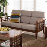 Baxton Studio Larissa Cushioned Sofa