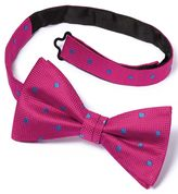 Charles Tyrwhitt Pink Silk Spot Classic Ready-Tied Bow Tie