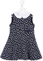 Familiar polka dot print dress