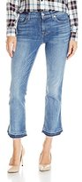 7 For All Mankind Women's Released Hem Cropped Boot Jean in