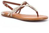 Gianni Bini Amalya Braided T-Strap Sandals