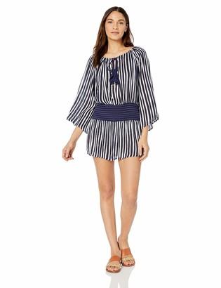 Anne Cole Studio Women's Long Sleeve Cover Up Dress