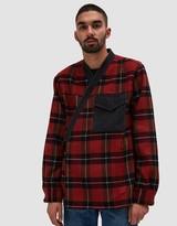 3.1 Phillip Lim Flannel Plaid Kimono Shirt Jacket