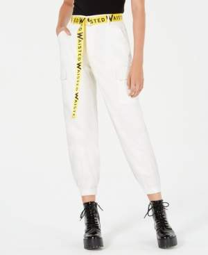 Waisted Belted Cargo Pants