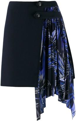 Givenchy Draped Detail Mini Skirt