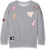 Name It Girl's Nitcandy O-Neck Sweat F Nmt Sweatshirt