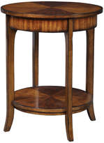 Uttermost Carmel Distressed Round Accent Table