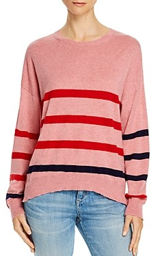 Sundry Heart & Star Striped Sweater - 100% Exclusive