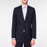 Paul Smith Men's Tailored-Fit Navy 'A Suit To Travel In' Wool Blazer