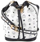 MCM Heritage Drawstring Bucket Bag