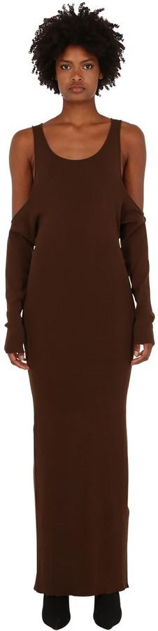 Unravel Long Cotton Blend Dress