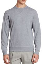 Brunello Cucinelli Felpa Crewneck Athletic Sweatshirt