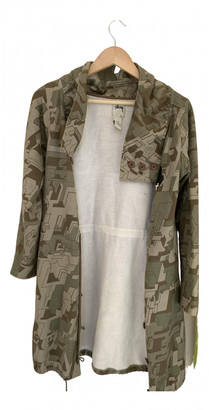 Stussy Green Cotton Coats