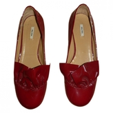 Miu Miu Varnished Leather Loafers