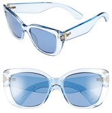Kate Spade Women's 'Andris' 54Mm Sunglasses - Blue
