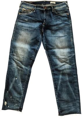 True Religion Navy Cotton - elasthane Jeans for Women