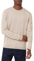 Topman Men's Marled Crewneck Sweater