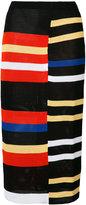 Proenza Schouler striped skirt