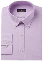 Club Room Men's Classic/Regular Fit Lavender Spread Dress Shirt, Only at Macy's
