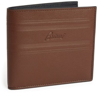 Brioni Small Leather Bifold Wallet
