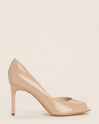 Nine West Natural Chance dOrsay Patent Pumps