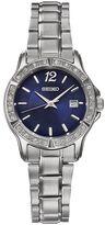 Seiko Women's Crystal Stainless Steel Watch - SUR721